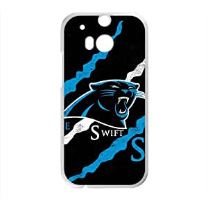 NFL Team Logo Carolina Panthers Cell Phone Case FOR HTC One M7