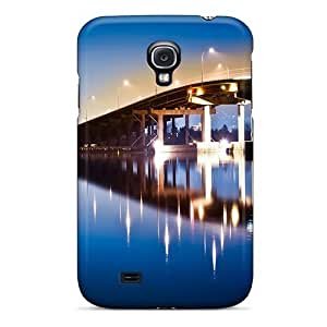 Hot ZfZHGZL6867gDmOs Bridge Nightlife Tpu Case Cover Compatible With Galaxy S4