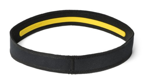 Halo Headband Sweatband Slim, 1-Inch, Black (Halo Headband Tie)