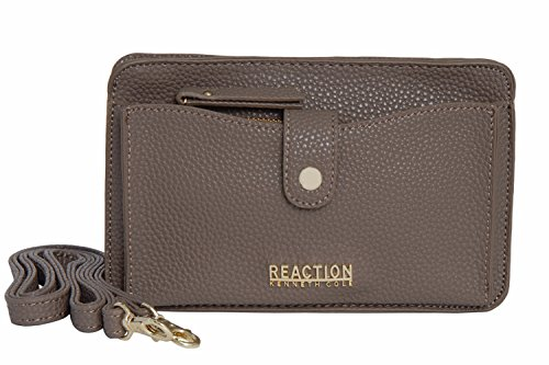 Kenneth Cole Reaction KN1868 Alpine Mini Cross Body Bag (DARK MUSHROOM)