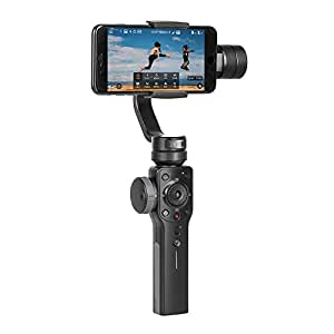 Zhiyun Smooth 4 3-Axis Handhelp Gimbal Stabilizer with Focus Pull & Zoom Capability for iPhone X 8 Plus 7 Plus 6 Samsung Galaxy S9+ S9 S8+ S8 Smartphone