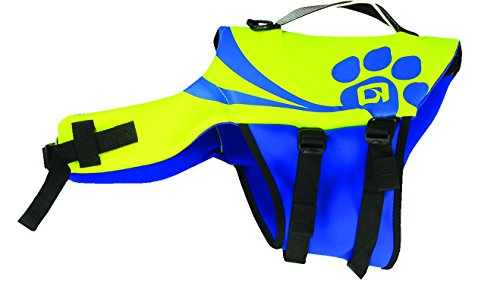 Charles Nylon Vest - O'Brien Pet Life Vest, Small, Yellow/Blue
