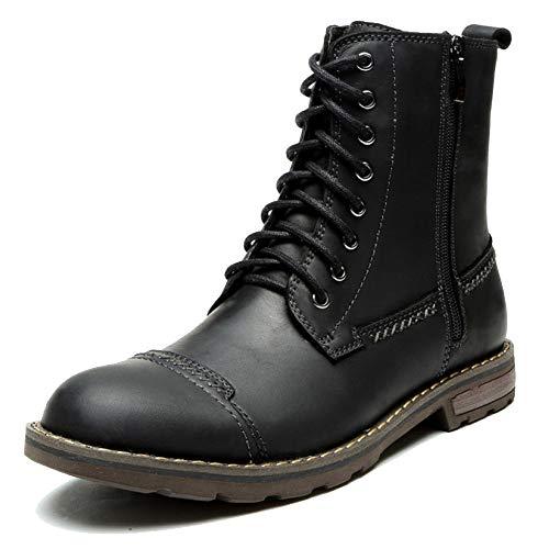 Black Lace Uomo Trekking Zip In Martin Scarpe Da Boots Ups Scarpe Fiore Casual Desert Vintage Stivali Pieno Stivaletti Pelle Per Trekking dwBBXqR