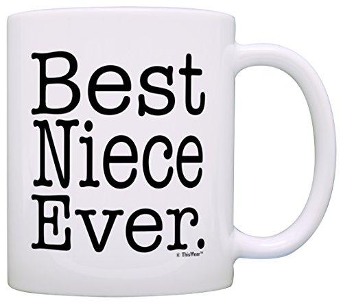 Gift Niece Best Coffee White