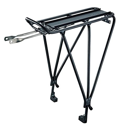 Topeak Explorer 29Er Tubular Rack with Disc Mount (Black, 16.5x6.7x16.3-Inch) (Bike Rack Disc Brake)