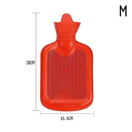 rungao cuatro tamaño de espesor de caucho bolsa de agua caliente botella caliente relajante terapia calor frío