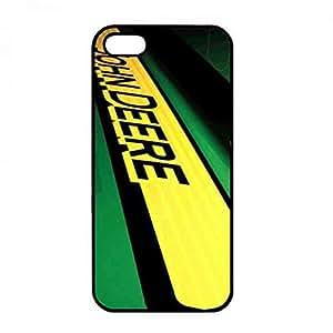 Unique Style John Deere Funda Case, Plastic Black Cover, John Deere iPhone 5/iPhone 5S Case
