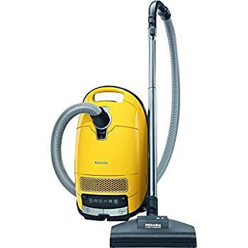 new miele complete c3 calima canister vacuum canary yellow