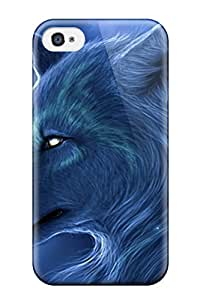 Best Durable Arctic Wolf Back Case/cover For Iphone 4/4s 9278466K35465322
