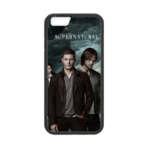 Fayruz- Personalized Protective Hard Textured Rubber Coated Cell Phone Case Cover Compatible with iPhone 6 & iPhone 6S - Supernatural F-i5G739