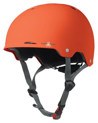 Helmet T8 Sweatsaver Liner (Triple Eight Gotham Rubber Helmet, Orange, Large/X-Large)