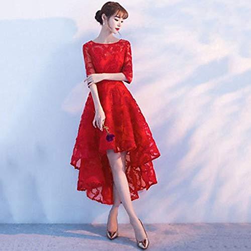 red Fiesta Ttskirt Vestido Mujeres Rodilla De Las Oscilación Hasta La xl qz4EBzZ