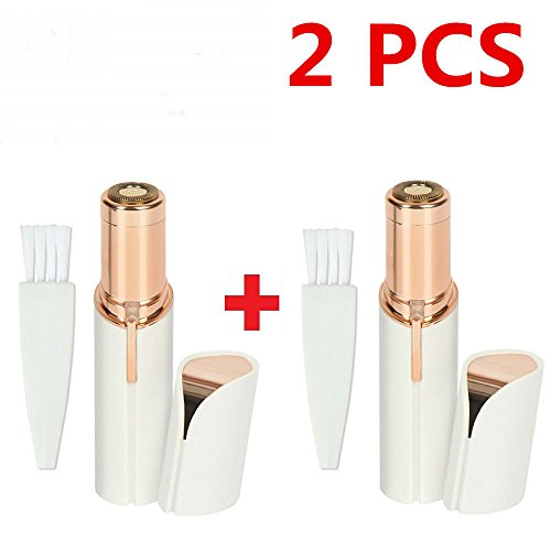 2X Finishing Touch Flawless Women Painless Hair Removal Face Facial Hair (Finishing Touch Hair Trimmer)