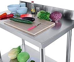 Mesa de Trabajo de Acero Inoxidable para Catering Comercial ...