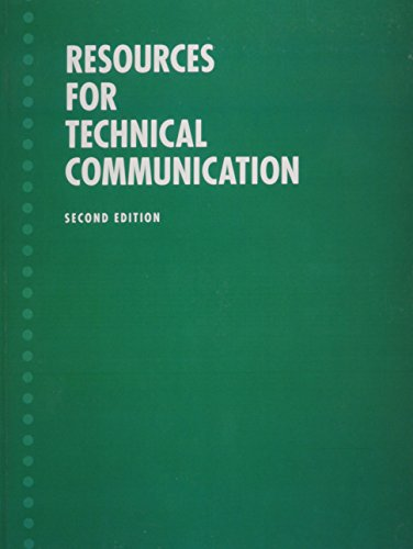 Resources for Technical Communication (Valuepack item only) (2nd Edition)