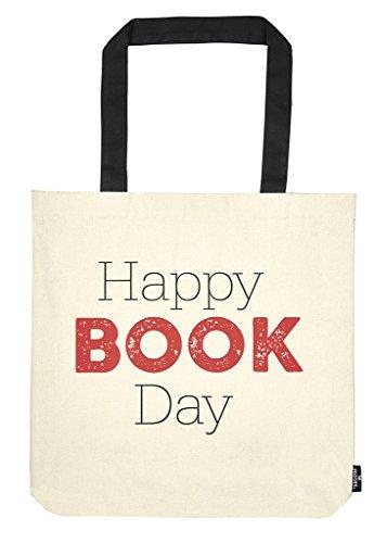 moses. libri_x Shopper Happy Book Day   Tragetasche 100% Baumwolle   Natur