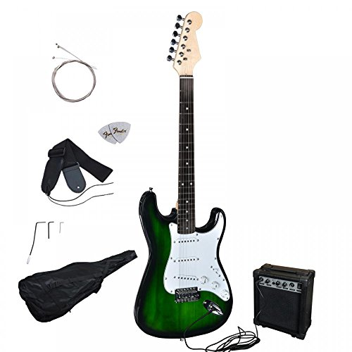 green-electric-guitar-with-amp-case-and-accessories-pack-beginner-starter-package