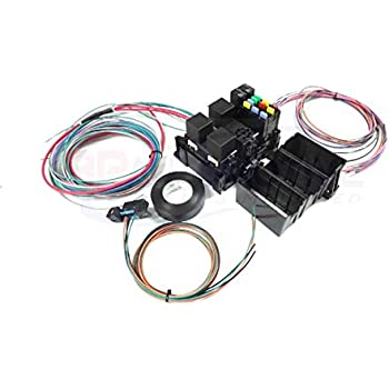 michigan motorsports ls swap wire harness fuse block with fans stand alone  wiring harness obd2 port