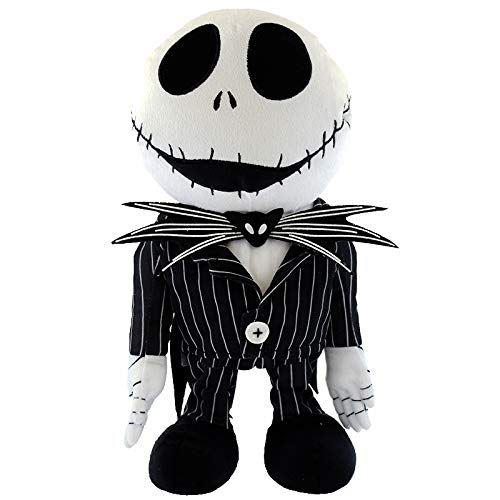 Disney 13 Inch The Nightmare Before Christmas 25 Years Jack Skellington Animated Musical Plush - Plays This is -