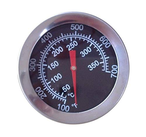 "VICOOL 2"" 700F Heat Indicator Replacement for Charbroil, Chargriller, Perfect Flame and Other Grills"