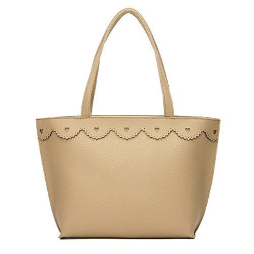 Aoligei Sacs de sacs de mode européens et américains de pure sac bandoulière unique d'unité centrale de couleur C