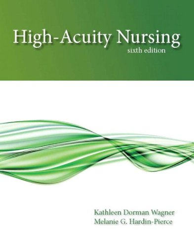 High-Acuity Nursing (6th Edition) by Prentice Hall