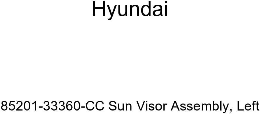 Genuine Hyundai 85201-33360-CC Sun Visor Assembly Left