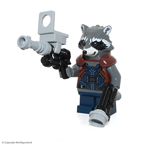 LEGO Super Heroes: Guardians of the Galaxy Vol  2 MiniFigure - Rocket  Raccoon (76079)