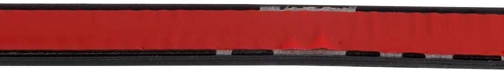 Guarnizione di tenuta universale per guarnizione del bordo della portiera Guarnizione di tenuta in gomma di tipo B per isolamento acustico 16m Striscia di tenuta