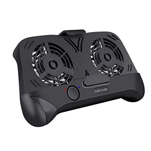 Price comparison product image MChoiceMobile Phone Gamepad 4 in 1 Handle Joystick Dual Cooling Fan Radiator Holder Black