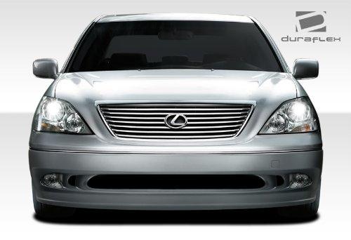 2001 2002 2003 Duraflex Fiberglass - Duraflex 107776 2001-2003 Lexus LS Series LS430 Duraflex VIP Front Bumper Cover - 1 Pi