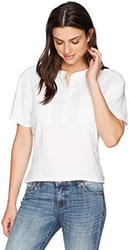 Monrow Women's Open Back Shirt