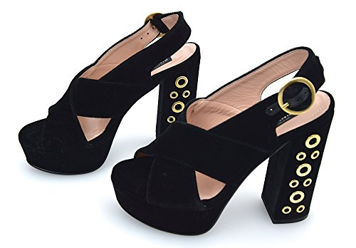 Pinko De Sandalias Para Tacón Nero Mujer Black Terciopelo Art Kermesse 1p20sc Negro Y2vg SrSqwd5O