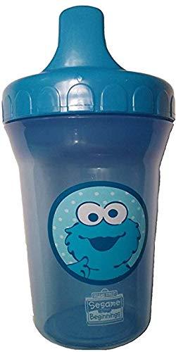 Sesame Street 8 oz Plastic Spill Proof Cup - Blue Sippie - Beginnings Street Cups Sesame