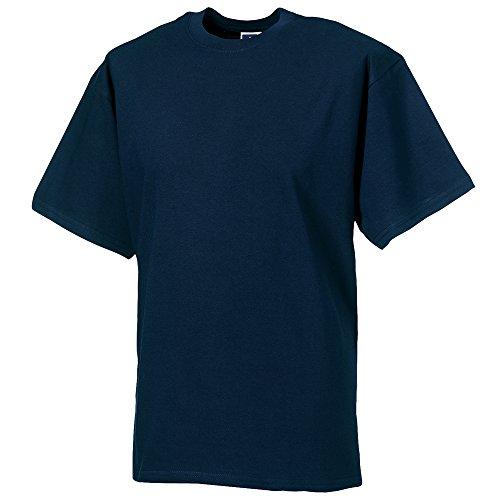 - Russell Europe Mens Classic Heavyweight Ringspun Short Sleeve T-Shirt (X-Large (42