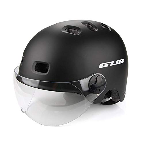 ethic Ultralight Cycling Helmet City Commute Comfortable Bicycle Scooter Riding Safety Helmet, With Widened Goggles…