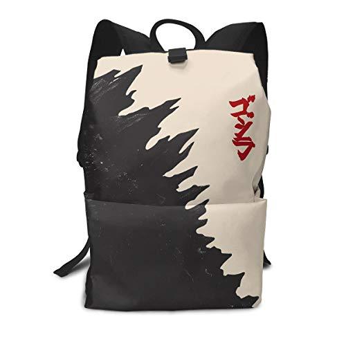 Kaiju Godzilla Japanese Multi-function Backpack College Bookbag]()