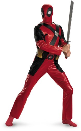 Marvel Universe Deadpool Adult Costume