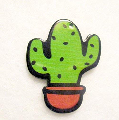 Cactus Acrylic Needle Minder, Hand Needle Notion