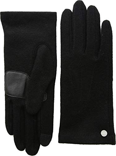 Echo Women's Classic Wool Blend Glove, Black, Extra Large