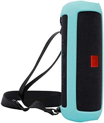 H/ülle f/ür JBL Flip 5 White Case Reise-Silikon-Schutzh/ülle Carry Cover Tasche f/ür JBL Flip5 Bluetooth Lautsprecher
