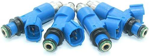4 Turbo Fuel Injectors Fits 06-14 For Subaru Impreza WRX 07-14 STI 550cc 16611-AA720