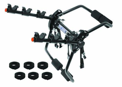 (Pro-Series 1370600 Axis 3 Black 3-Bike Trunk Mount Bike Carrier)