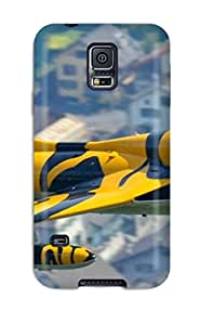 Awesome Case Cover/galaxy S5 Defender Case Cover(jet Fighter)