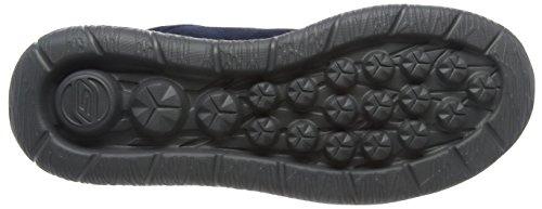 Skechers Go Walk CityChallenger - zapatilla deportiva de piel hombre azul - Blau (Nvrd)