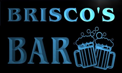 w009819-b-briscos-name-home-bar-pub-beer-mugs-cheers-neon-light-sign
