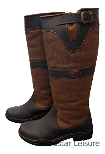 Bottes HKM Fashion -Scotland Winter- 40 Marron
