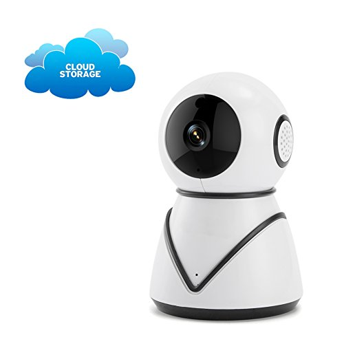 411cc27PC5L - Wireless Home Security Camera 2.4G Wifi Dog Camera Nanny Cam Video Monitor Baby Night Vision Pan Tilt Two Way Audio Monitor Detection