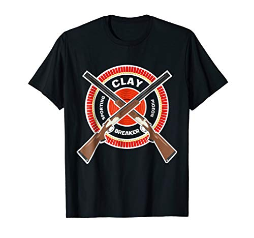 Skeet Trap Clay PigeonTShirt Shotgun Shooting Sporting Shirt