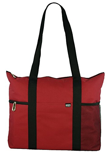 Tote Shoulder Bag (Red) - 3